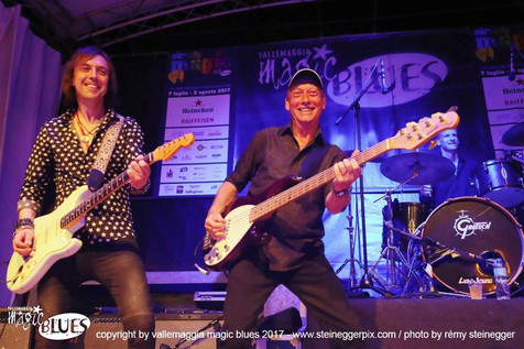 Mark Abrahams Bob Skeat Wishbone Ash Magic Blues Festival