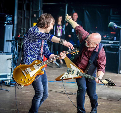 Wishbone Ash Mark and Andy Sweden Rock