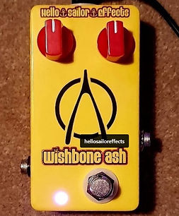 Win My Custom Made Anchor Drive Pedal By Hello Sailor Effects