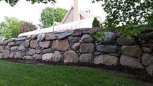 Mur de roche a bromont pour un paysagemant de qualité a cowansville et environ