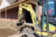 Excavation de finition a lac-brome pour un projet commercial