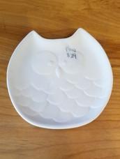 Flat owl plate