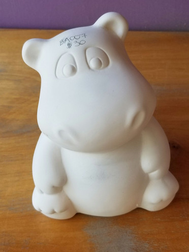 Large Hippo bank