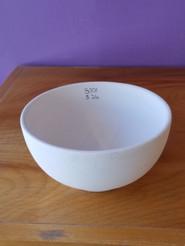 Round rice bowl