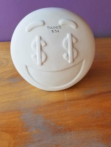 $ Emoji bank