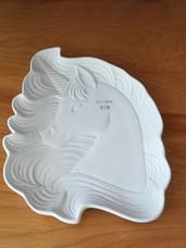 Fancy Unicorn plate