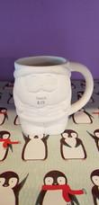 Standing Santa mug