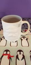 Santa face mug