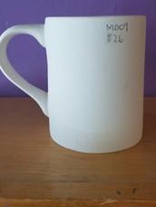 16 oz plain mug