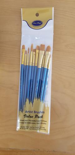 Paint brush set of 10