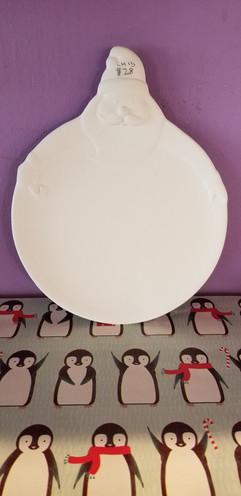 Tall Santa plate
