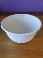 Embossed bowl
