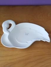 Flamingo plate