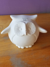 Medium owl bank