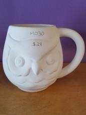 Large owl mug