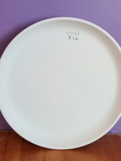Deep coupe lunch plate