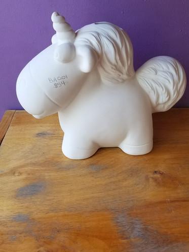 Large Unicorn bank