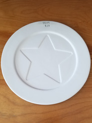 Star lunch plate