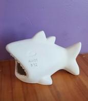 Shark scrubbie holder