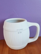 Round barrel mug