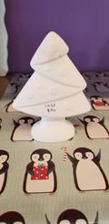 Tree with decorations figurine
