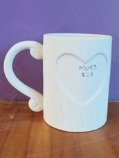 Tree heart mug