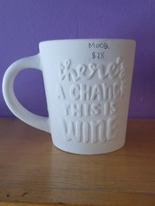 Chance of wine mug