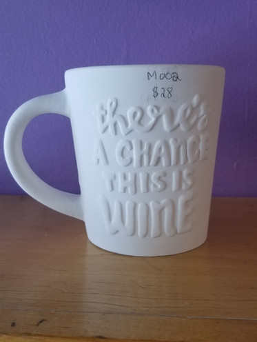Chance of wine mug