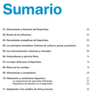 ALIMENTACIÓN, NUTRICIÓN E HIDRATACIÓN EN EL DEPORTE.
