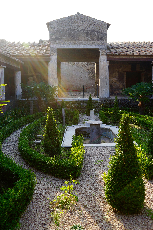 Next to Pompeii Ruins