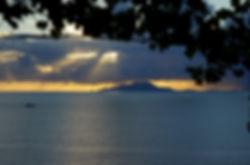 view on Ischia island