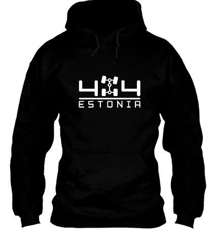 4X4 Estonia kapuutsiga pusa ( Must )