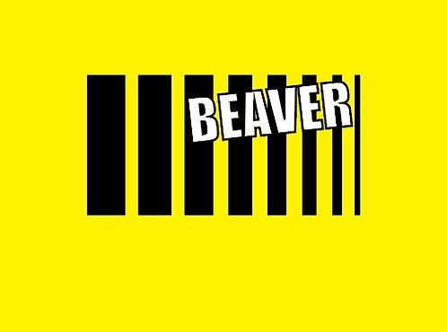 BEAVER kleebis #1
