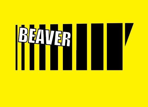 BEAVER kleebis #2