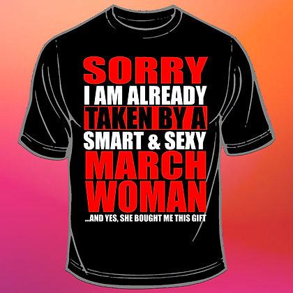 Ma olen võetud naise poolt