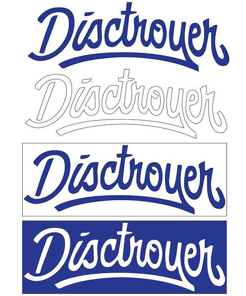 Disctroyer.ee kleebised 1m2 ( 168tk )