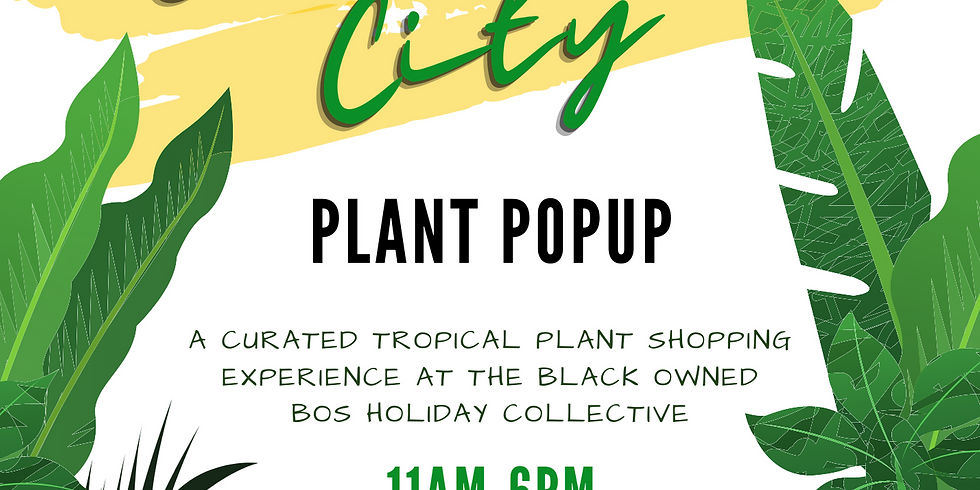 Emerald City Plant Popup
