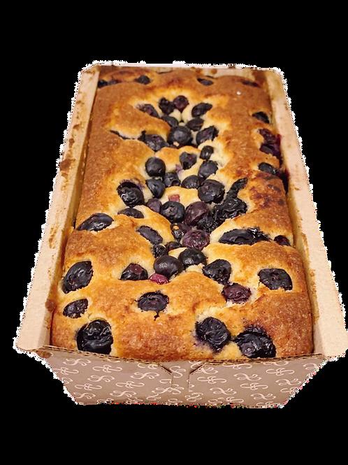Keto Lemon Blueberry Pound Cake