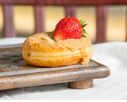 Strawberry Cheese Cake Donut