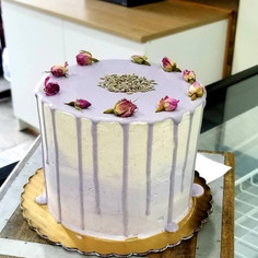 #7 - Lavender Vanilla Cake