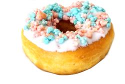 Cotton Candy Donut