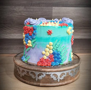 #15 - Mermaid Theme Cake