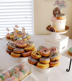Cakes and donuts