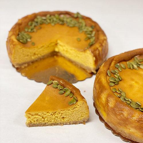 Keto Pumpkin Cheesecake (8 inch round)