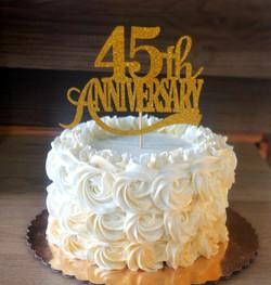 Keto Anniversary Cake