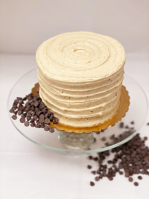 Keto Peanut Butter Chocolate Cake