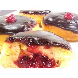 Chocolate Raspberry Donut