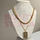 Thumbnail: Verse plates (18k gold plated necklace)