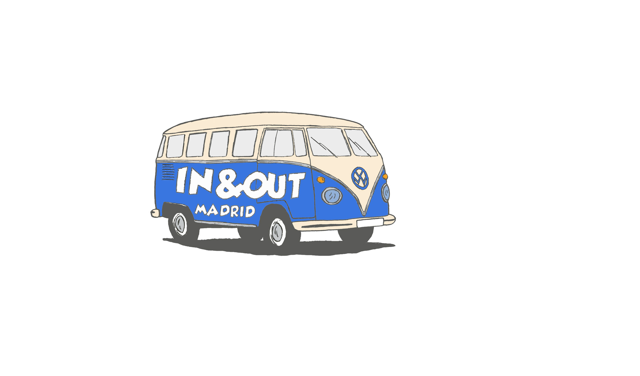 logotipo de IN & OUT MADRID TOURS SL.