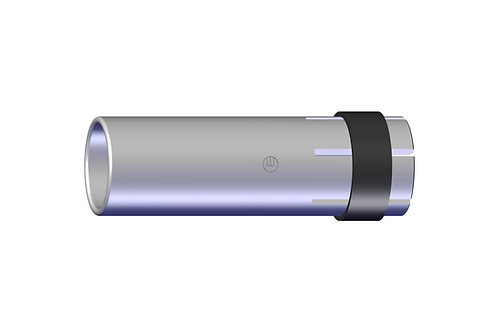 Gasdüse zylindrisch NW Ø 17,0 x 63,5 mm MB 24 / 240